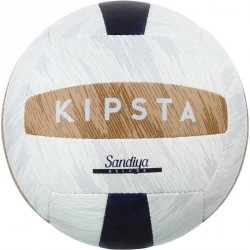 Ballon de beach-volley Sandiya Deluxe bleu marron