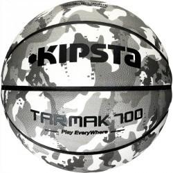 Ballon de Basketball adulte Tarmak 700 taille 7 camo blanc gris