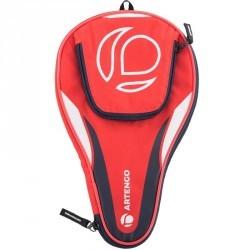 Housse de protection raquette de ping pong ARTENGO FC 710 Rouge