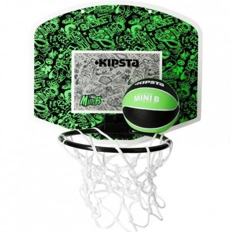 Panneau Basketball Set Mini B vert noir