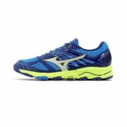 Chaussures de Running Mizuno Wave Mujin 4 Homme Bleu