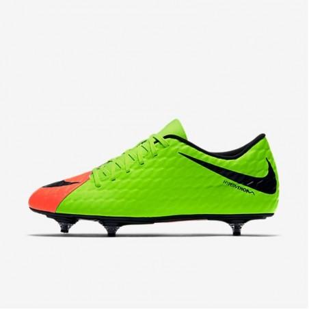 Chaussure football adulte Hypervenom phade SG vert
