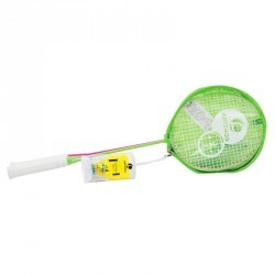 SET RAQUETTES DE BADMINTON ADULTE - SET DIS - ROSE VERT- ARTENGO
