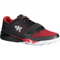 Chaussure Basketball adulte Fast 500 noir rouge