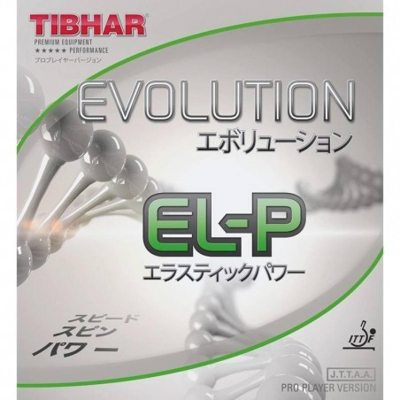 REVÊTEMENT DE TENNIS DE TABLE TIBHAR EVOLUTION EL-P