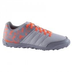 Chaussure de football enfant terrains durs CLR 500 HG grise orange