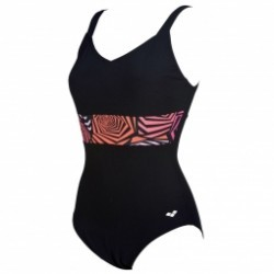 Maillot de bain 1 pièce Arena W Helga Wing Back One Piece