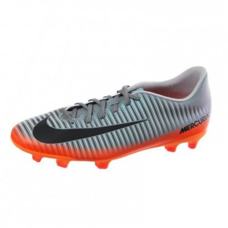 Chaussure football adulte Mercurial CR7 Vortex FG noir