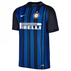 Maillot football adulte réplique Inter Milan bleu marine
