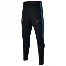 Pantalon entrainement football adulte FC Barcelone bleu marine