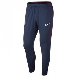 Pantalon entrainement football adulte Manchester City bleu jaune