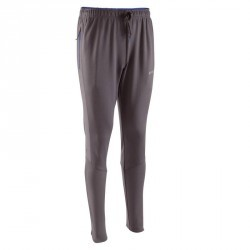 Pantalon d'entraînement de football adulte TP500 gris bleu