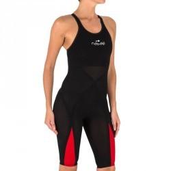 Combinaison de compétition de natation B-Fast noir rouge
