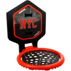 Panier de Basketball The Hoop NYC noir rouge