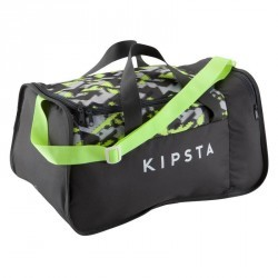 Sac de sports collectifs Kipocket 40 litres gris  jaune