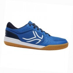 Chaussures de BADMINTON Artengo BS730 Man Bleu Blanc