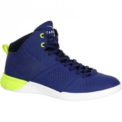 Chaussure de basketball adulte Strong 300 II bleu jaune