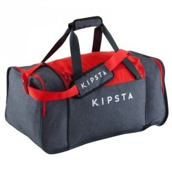 Sac de sports collectifs Kipocket 60 litres gris rouge