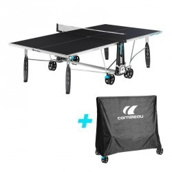 Table de tennis de table outdoor CORNILLEAU Off-road + housse