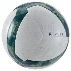 Ballon de football Society 100 Hybride taille 5 blanc vert