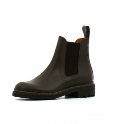 Boots en cuir Aigle MONBRISON 2
