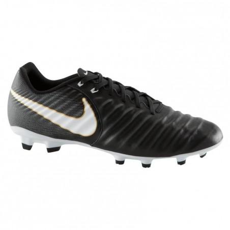 Chaussure de football adulte Tiempo Ligera FG noire