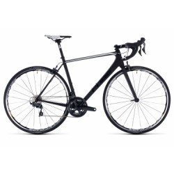 Vélo de Route Cube Litening C:62 Pro Shimano Ultegra 11V 2018 Noir / Blanc