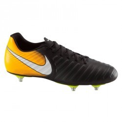 Chaussure de football adulte Tiempo Rio SG orange