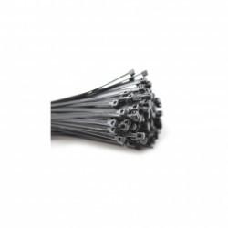 colliers de serrage en nylon noirs et blancs assortis - 1000 colliers