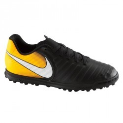 Chaussure de football enfant Tiempo Rio TF orange
