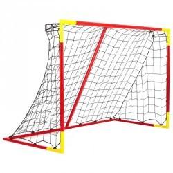 But de football Classic Goal taille M rouge jaune