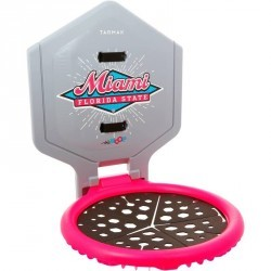 Panier de Basketball The Hoop Miami gris rose