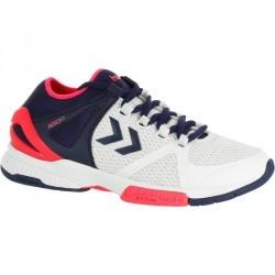 Chaussures de handball  adulte Hummel H200 blanche et bleu 2017/2018