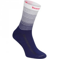 Chaussettes de handball Hummel blanc/bleu et chevron rose 2017