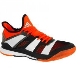 Chaussure de handball adulte Adidas Stabil Boost rouge et noir 2017