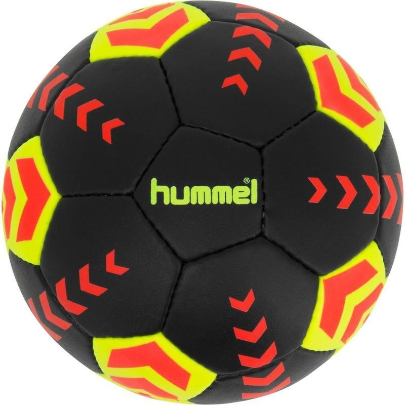 a9ff8c3a557ae Ballon de handball Tiger Hummel Arena noir, jaune et orange taille 3  2017/2018