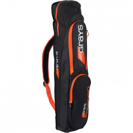 Sac de Hockey sur gazon GX3000 noir et orange