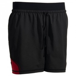 Short rugby Full H 500 noir rouge