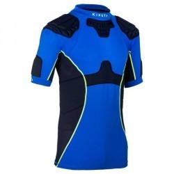Épaulière rugby adulte Full H 500 bleu
