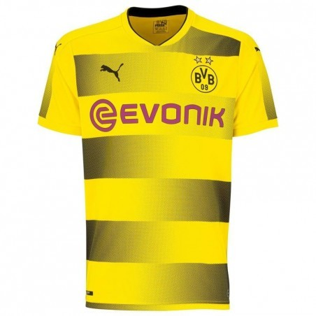 Maillot réplique de football adulte Dortmund  jaune