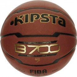 Ballon de Basketball adulte B700 FIBA taille 7 marron