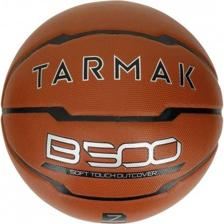 Ballon de Basketball adulte B500 taille 7 marron