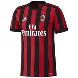 Maillot réplique de football adulte réplique Milan AC noir rouge