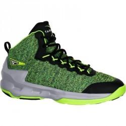 Chaussure de Basketball adulte Shield 500 noir vert