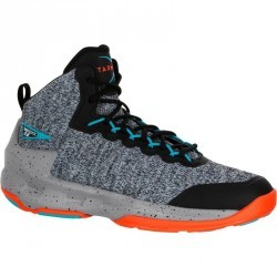 Chaussure de Basketball adulte Shield 500 gris noir