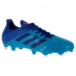 Chaussure de rugby adulte terrains gras Malice SG bleue