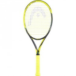 RAQUETTE DE TENNIS HEAD EXTREM MP NOIR JAUNE