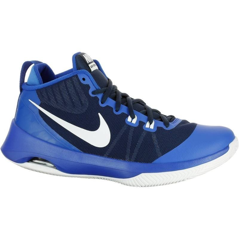 464669f6a96b8 Avis   test - Chaussures Basketball Nike Air Versitile bleue - Nike ...
