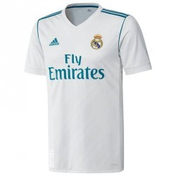 Maillot réplique de football enfant Real Madrid à domicile blanc