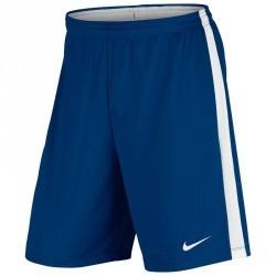 Short de football adulte Academy bleu